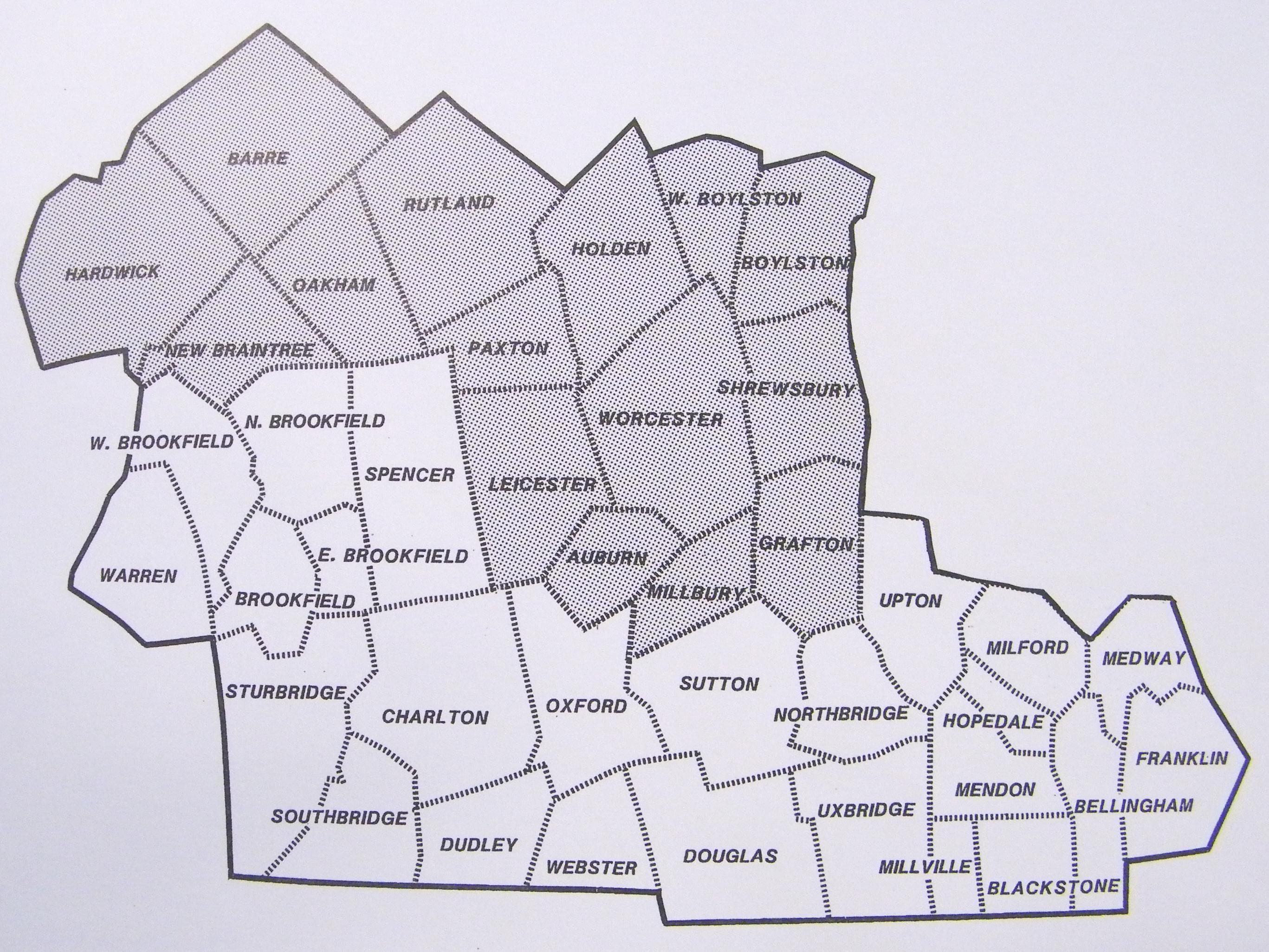 Massachusetts Service Area Tri Valley Elder Services